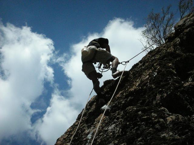 Скалолазание в горах Узбекистана